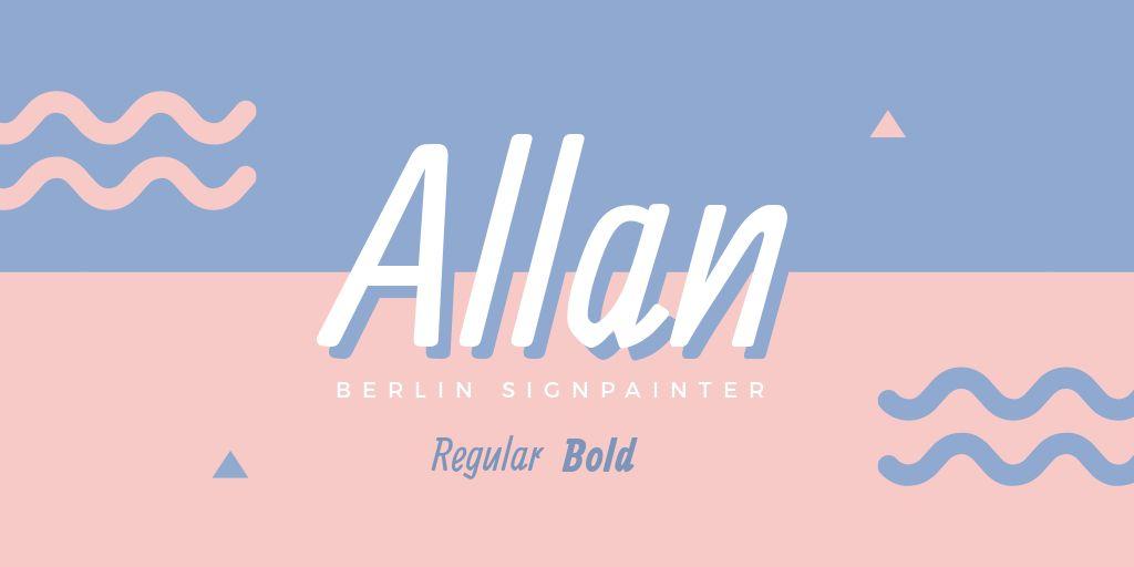 Ultimate Font Pairing Guide - Allan Signpainter Font