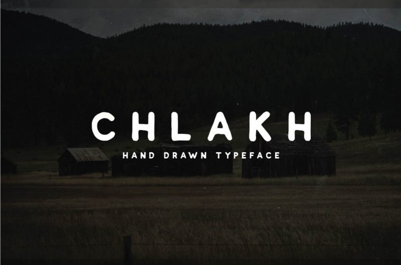 Chlakh Free Font - 73 Best Free Fonts to Create Stunning Designs