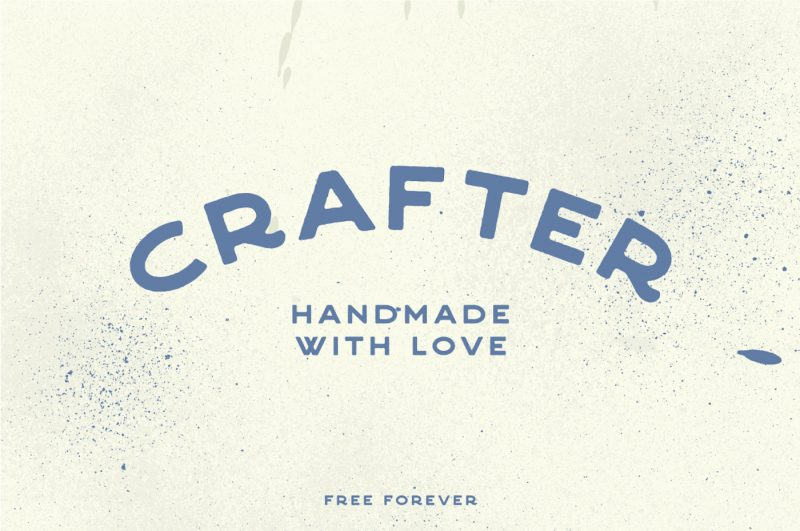 Crafter Font - 73 Best Free Fonts to Create Stunning Designs in 2018