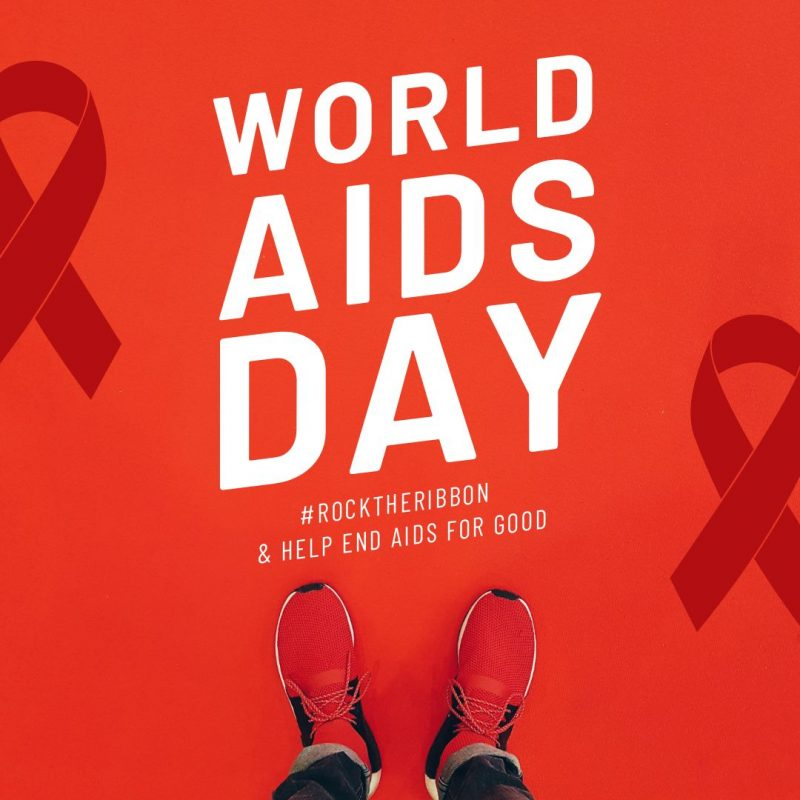 World Aids Day Image by Easil - December Content Calendar Ideas + Templates