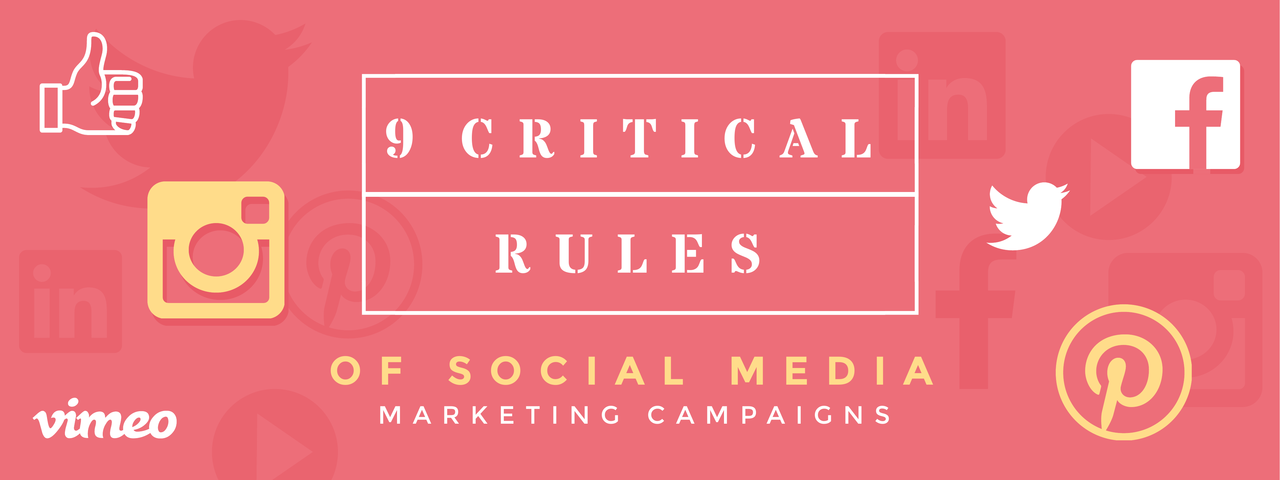 Social Media Marketing Campaign Rules