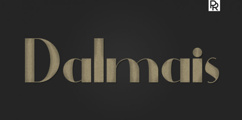 Dalmais Free Font - 73 Best Free Fonts to Create Stunning Designs in 2018