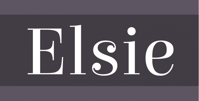 Elsie Free Font - 73 Best Free Fonts to Create Stunning Designs
