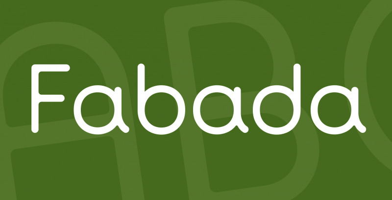 Fabada Free Font - 73 Best Free Fonts to Create Stunning Designs in 2018