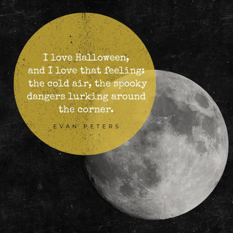 I love Halloween - Halloween Quotes by Easil - 22 Halloween Quotes for Spooky Social Media Posts #Halloween