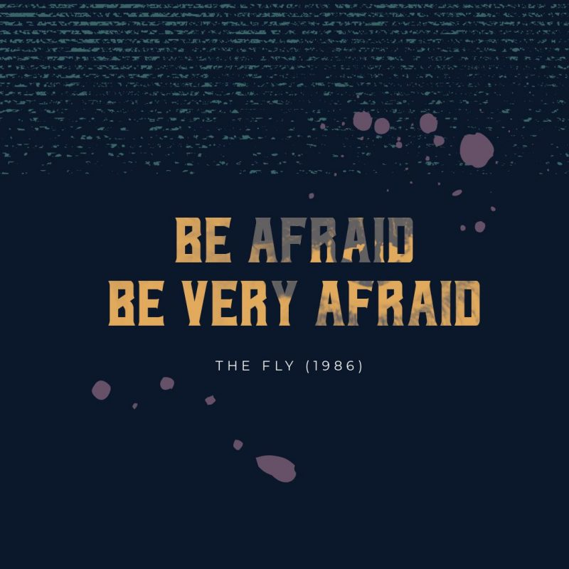 Be Afraid, Be Very Afraid Halloween Quote by Easil - 22 Halloween Quotes for Spooky Social Media Posts