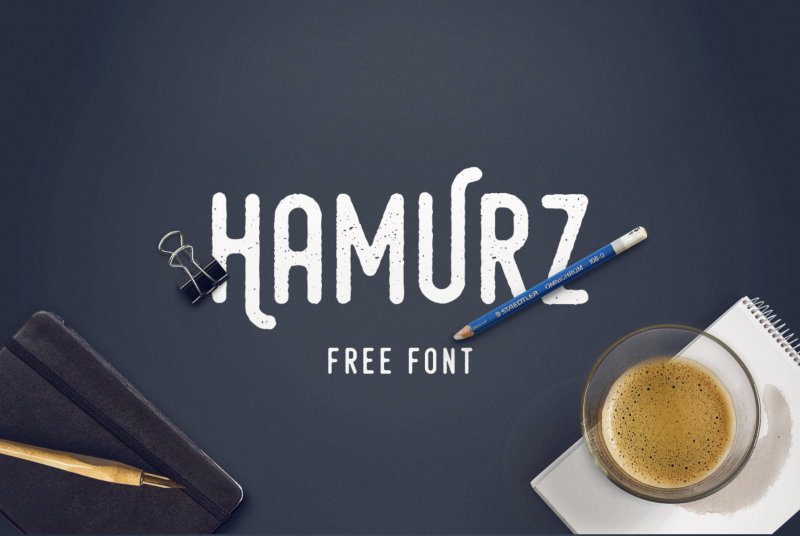 Hamurz Free Font - 73 Best Free Fonts to Create Stunning Designs