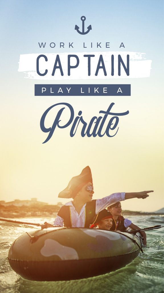 Work like a Captain, Play like a Pirate - 10 Easy Ways to Power Up Your Social Media Images