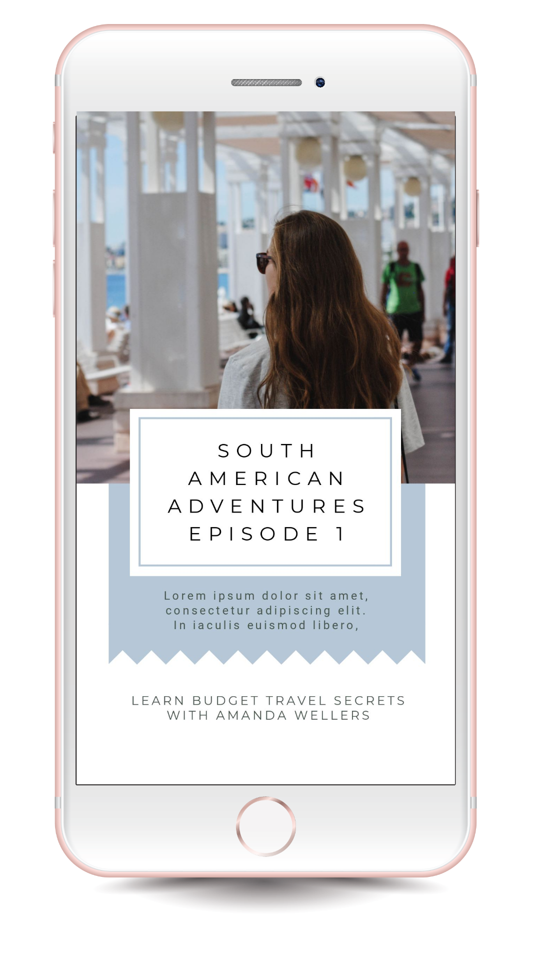 Tourism and Travel IGTV Cover Template - 17 Stunning IGTV Templates for your Instagram TV Channel #InstagramTips