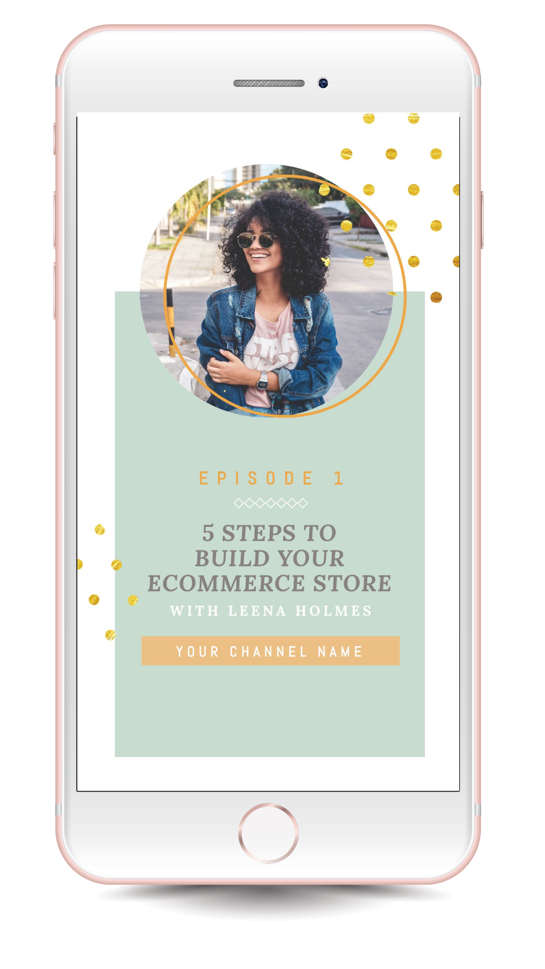 E-commerce Store IGTV Cover Template - 17 Stunning IGTV Templates for your Instagram TV Channel