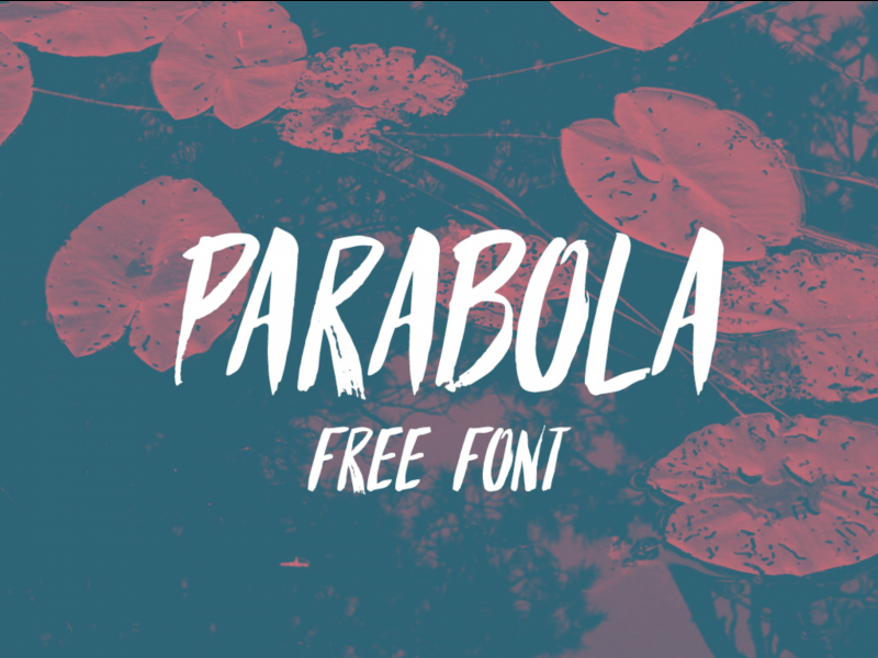 Parabola Free Font - 73 Best Free Fonts to Create Stunning Designs