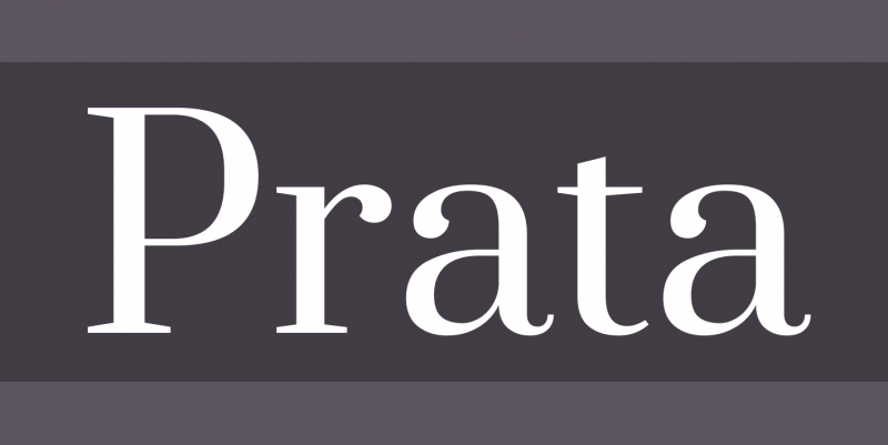 Prata Free Font - 73 Best Free Fonts to Create Stunning Designs