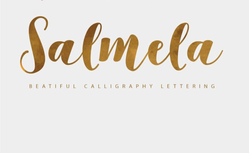 Salmela Free Font - 73 Best Free Fonts to Create Stunning Designs
