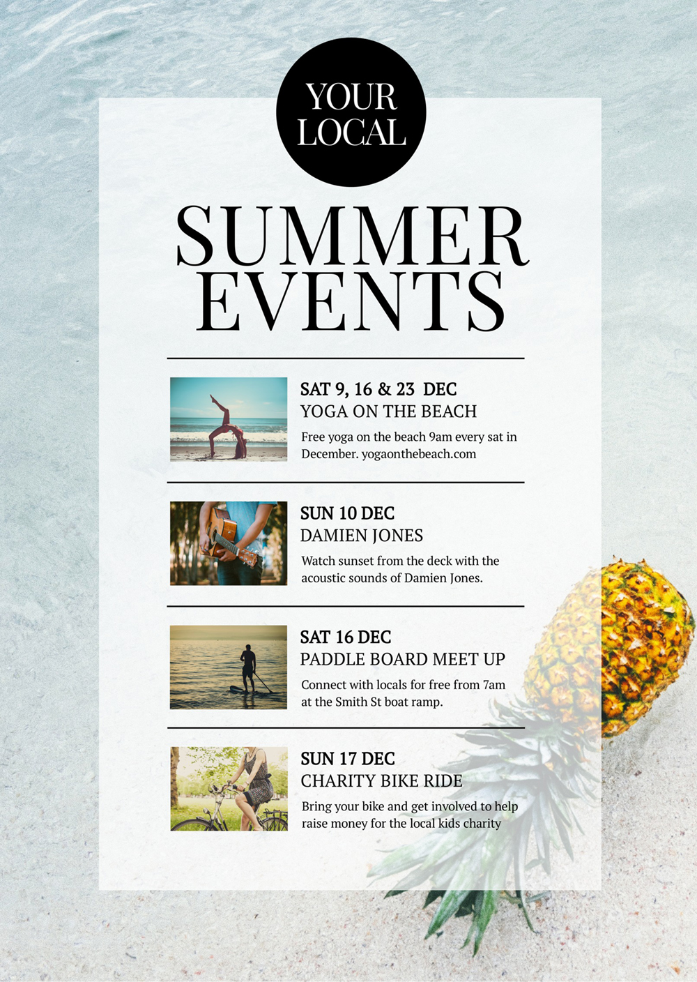 Local Summer Events Guide - How to Get More Event Bookings at your Venue in 2018 - 21 Easy Tips
