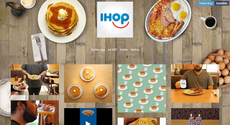 visual content marketing - ihop