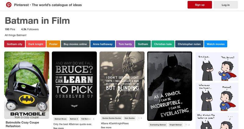 visual marketing idea - AMC Theatres