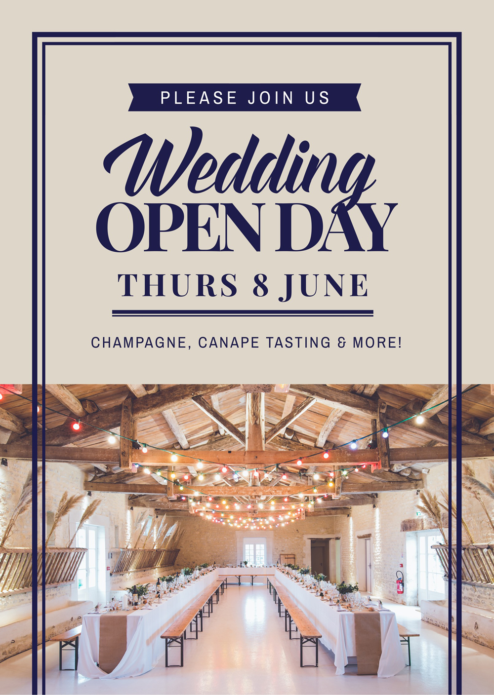 """Wedding """"Open Day"""" - How to Get More Event Bookings at your Venue in 2018 - 21 Easy Tips"""