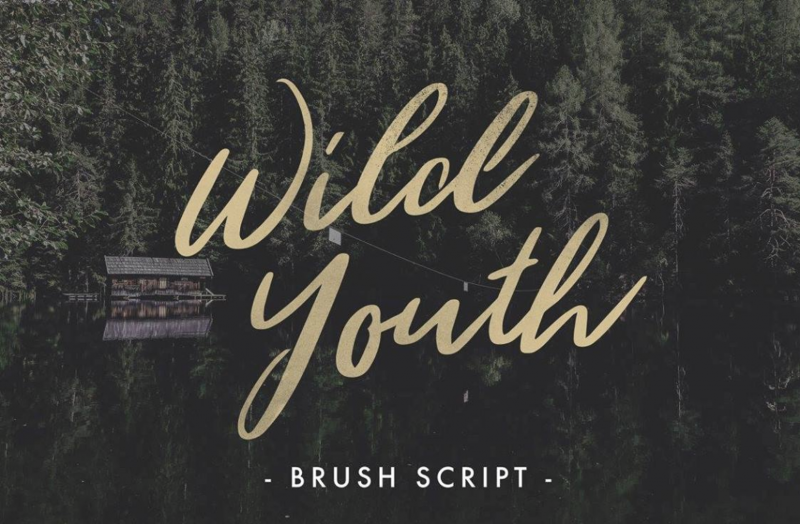 Wild Youth Free Font - 73 Best Free Fonts to Create Stunning Designs
