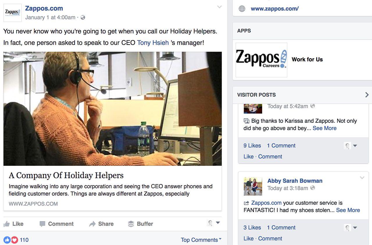 zappos behind the scenes